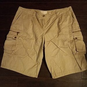 Michael Kors khaki cargo shorts